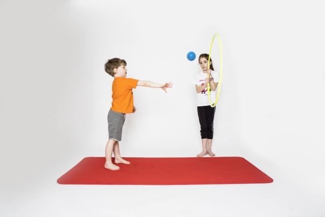 Ball-Zielwurf